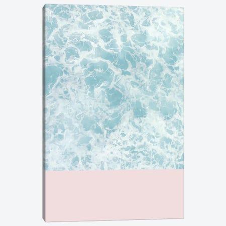 Pink On The Sea Canvas Print #CTI73} by Emanuela Carratoni Art Print