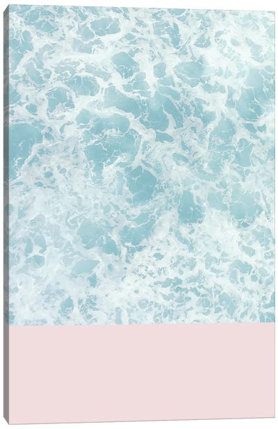 Pink On The Sea Canvas Art Print