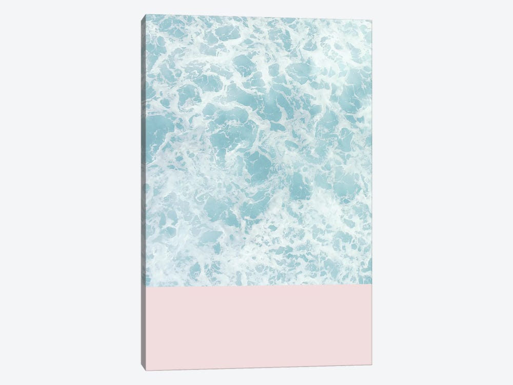 Pink On The Sea by Emanuela Carratoni 1-piece Canvas Art Print
