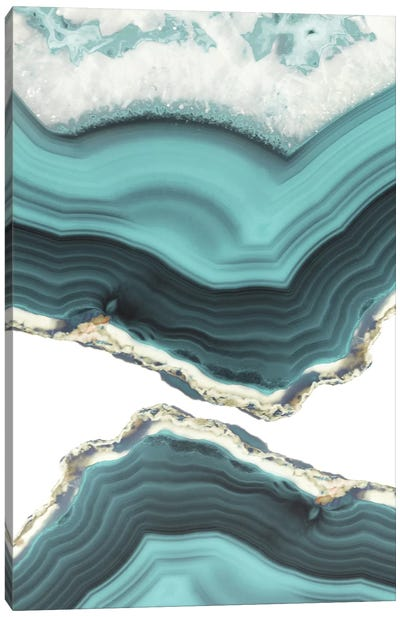 Sea Agate by Emanuela Carratoni Canvas Art Print