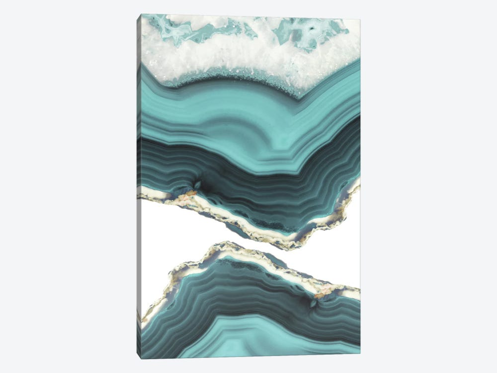 Sea Agate by Emanuela Carratoni 1-piece Canvas Art Print