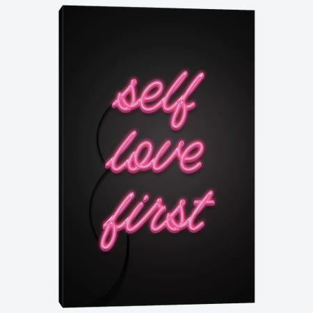 Self Love First Canvas Print #CTI82} by Emanuela Carratoni Canvas Artwork