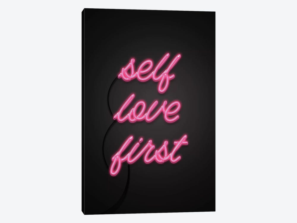 Self Love First by Emanuela Carratoni 1-piece Art Print