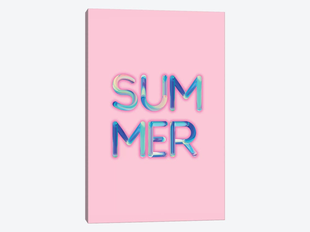 Summer by Emanuela Carratoni 1-piece Canvas Print