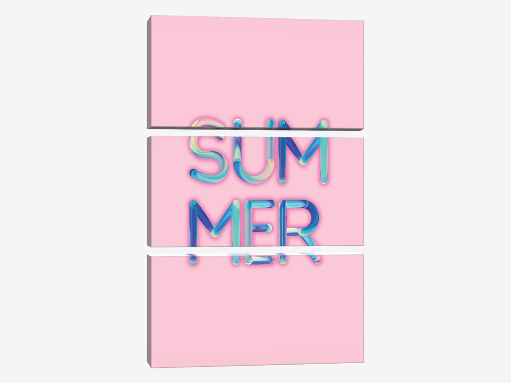 Summer by Emanuela Carratoni 3-piece Canvas Print