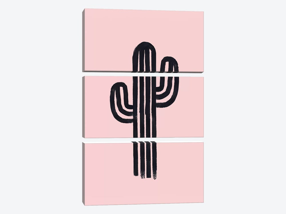 The God Cactus by Emanuela Carratoni 3-piece Art Print