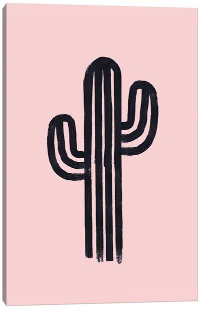The God Cactus Canvas Art Print
