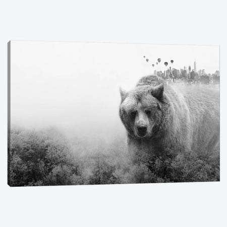 The Best Of All Worlds 3-Piece Canvas #CTI87} by Emanuela Carratoni Canvas Print