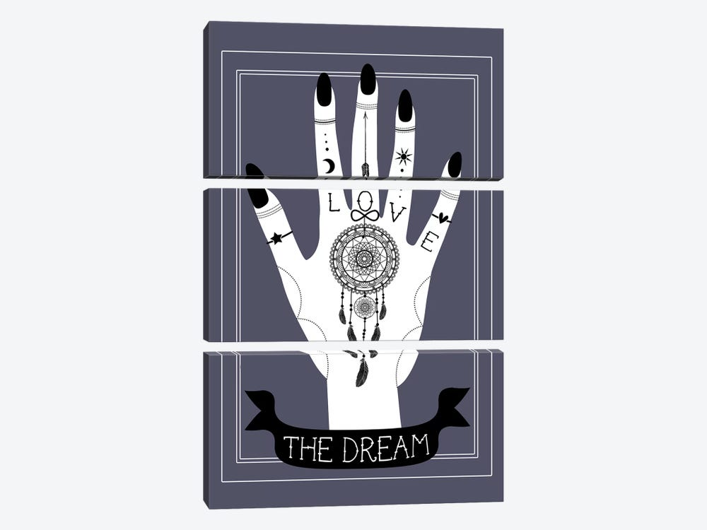 The Dream by Emanuela Carratoni 3-piece Canvas Art Print