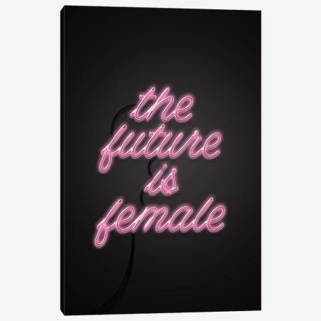 The Future Is Female Canvas Print #CTI89} by Emanuela Carratoni Canvas Wall Art