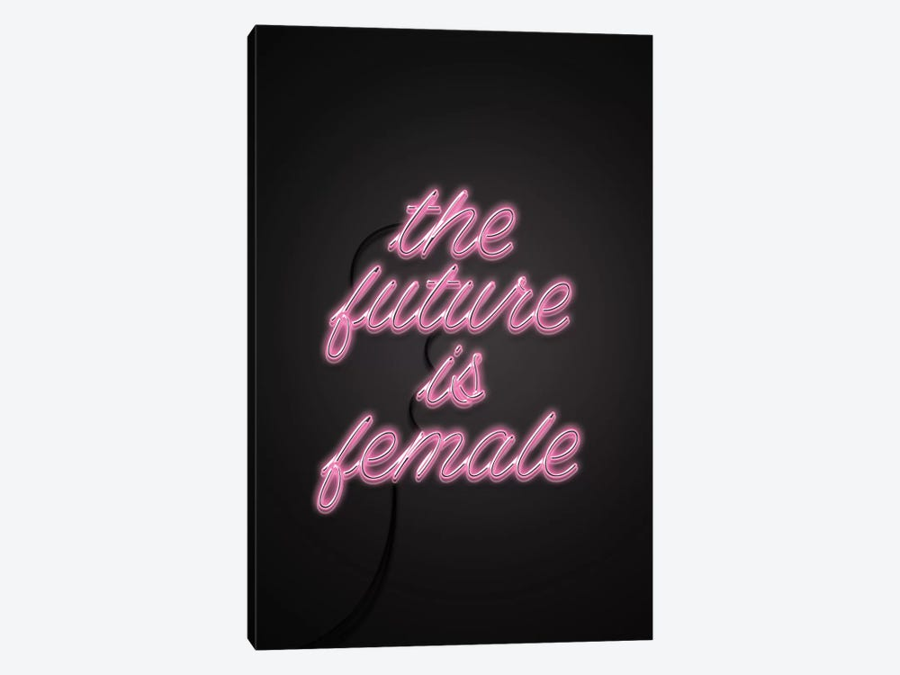 The Future Is Female by Emanuela Carratoni 1-piece Canvas Wall Art
