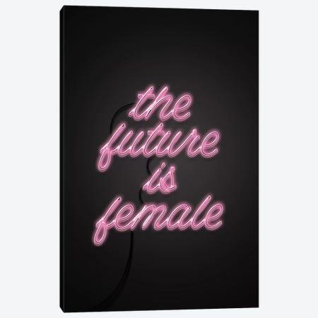 The Future Is Female Canvas Print #CTI89} by Emanuela Carratoni Canvas Wall Art