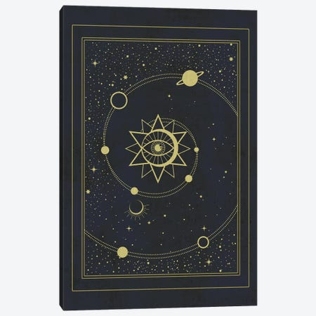 The Solar System Canvas Print #CTI90} by Emanuela Carratoni Canvas Art Print