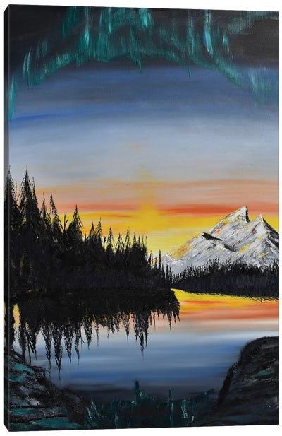 Mt Rainer Canvas Art Print