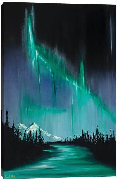 Collison I Canvas Art Print