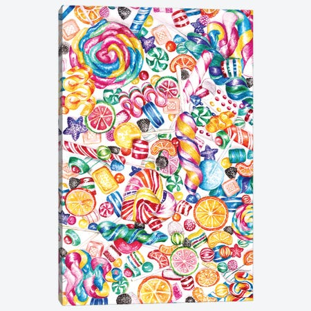 Candy Canvas Print #CTM12} by Claire Thompson Canvas Art Print
