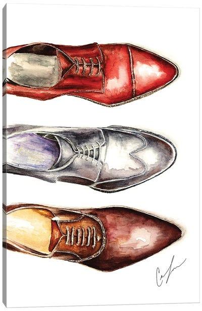 3 Shoes Canvas Art Print