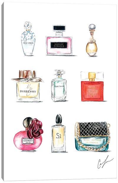 Perfumes Canvas Art Print