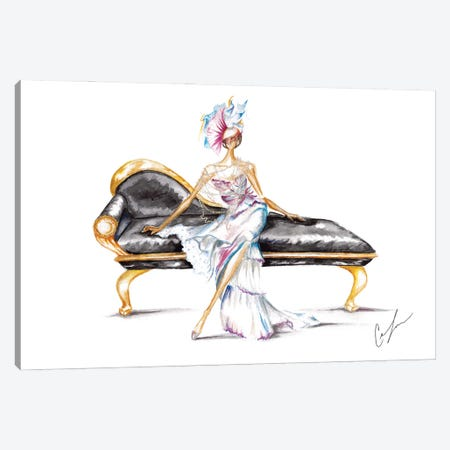 The Throne Canvas Print #CTM36} by Claire Thompson Canvas Artwork