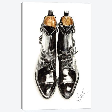 Black Boots Canvas Print #CTM5} by Claire Thompson Canvas Art Print