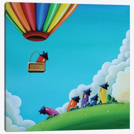 Up, Up, and Away Canvas Print #CTN12} by Cindy Thornton Canvas Art