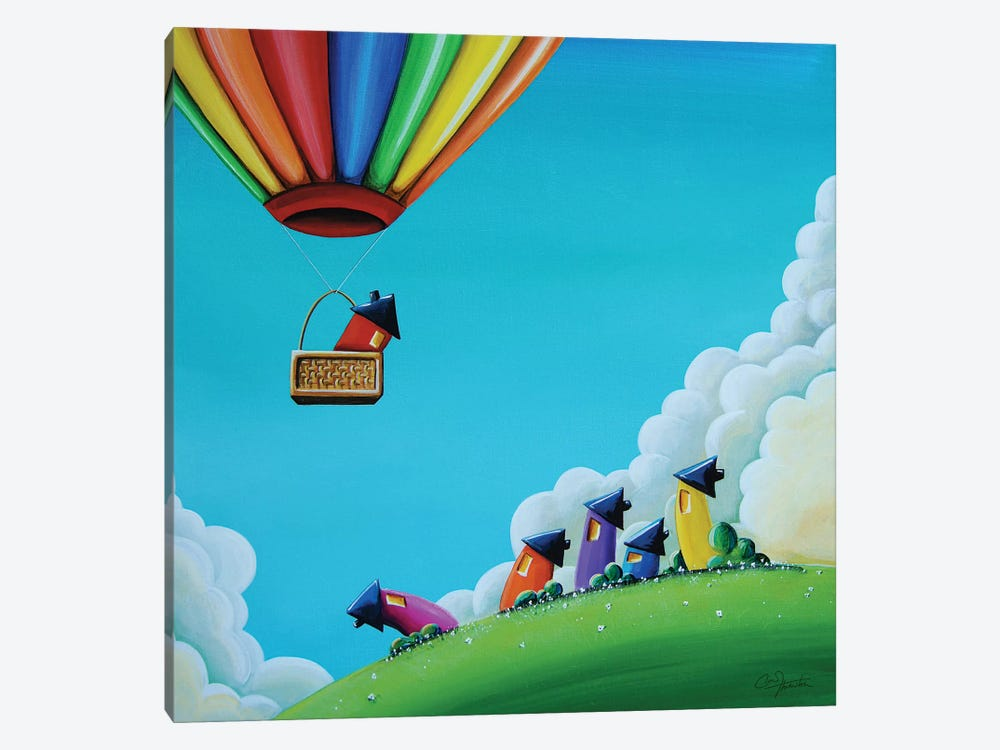 Up, Up, and Away by Cindy Thornton 1-piece Canvas Art Print