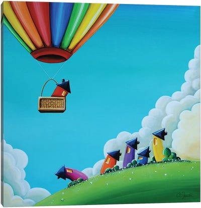 Up, Up, and Away Canvas Art Print
