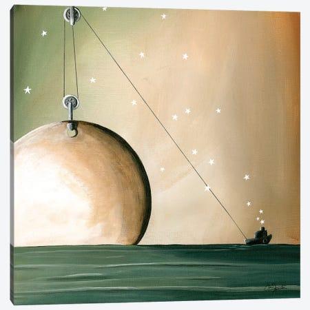 A Solar System Canvas Print #CTN13} by Cindy Thornton Canvas Art