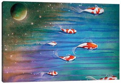 Flight of the Eventide Canvas Art Print