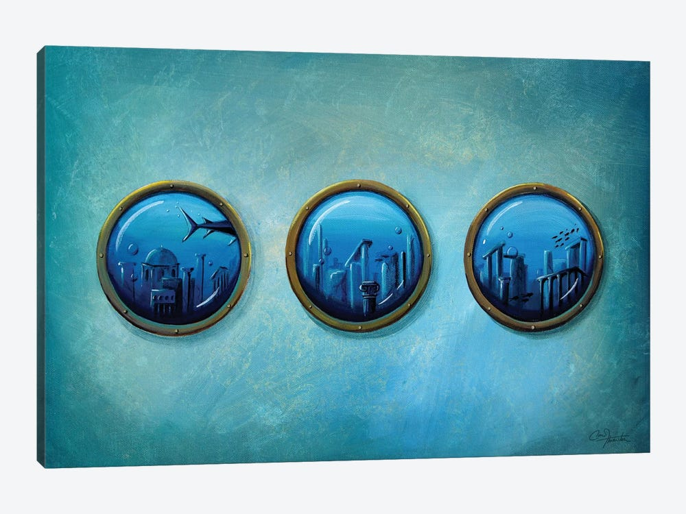 Gateway to Antiquity by Cindy Thornton 1-piece Canvas Wall Art