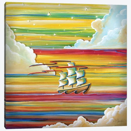 Off to Neverland Canvas Print #CTN16} by Cindy Thornton Canvas Print