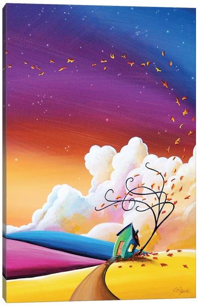 Autumn Skies III Canvas Art Print