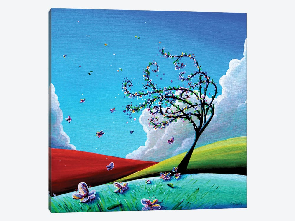 Springtime by Cindy Thornton 1-piece Canvas Art