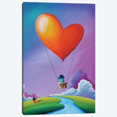 Don't Let Love Slip Away Canvas Print #CTN6} by Cindy Thornton Canvas Art