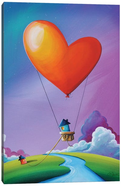 Don't Let Love Slip Away Canvas Print #CTN6