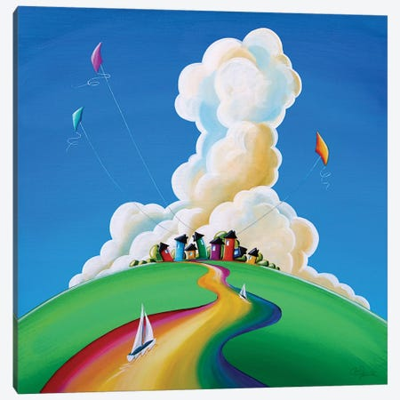 Good Day Sunshine Canvas Print #CTN9} by Cindy Thornton Art Print
