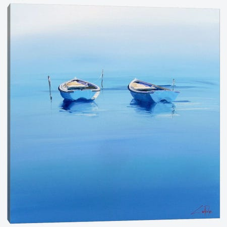 Late Moorings Canvas Print #CTP12} by Craig Trewin Penny Canvas Wall Art