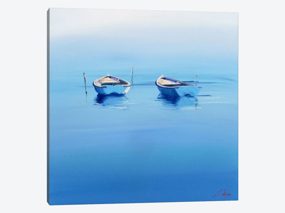 Late Moorings by Craig Trewin Penny 1-piece Art Print