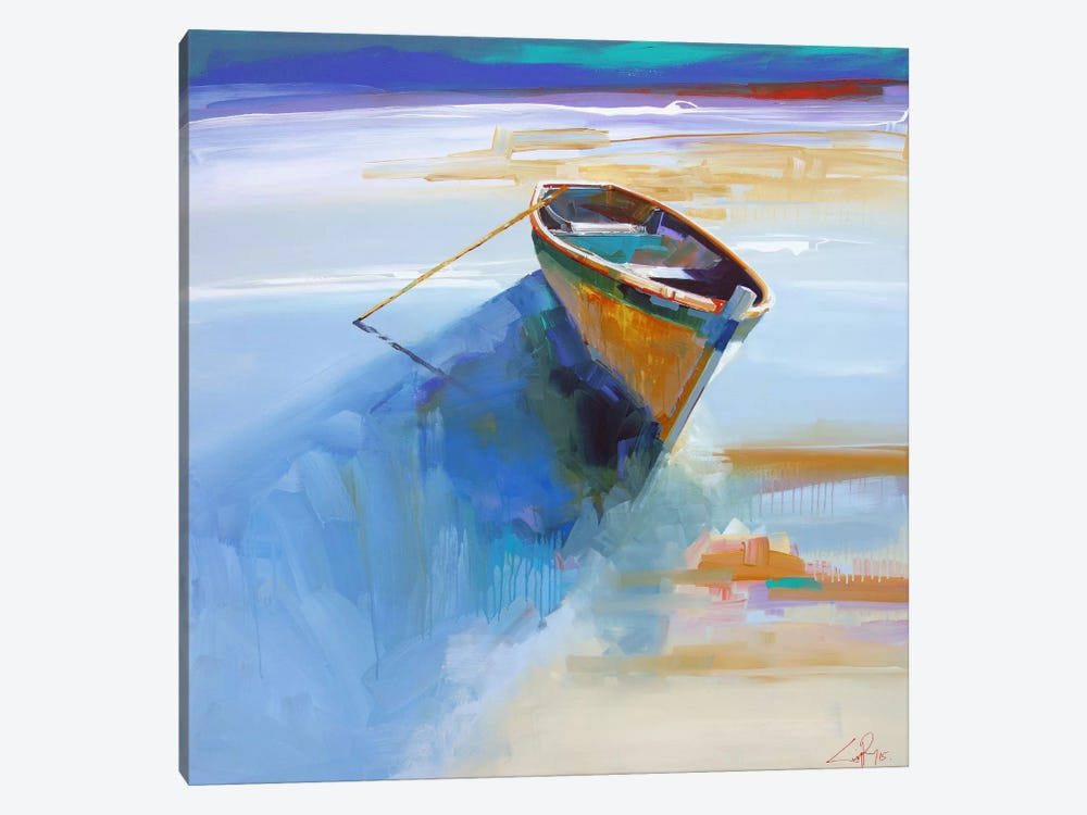 Low Tide I by Craig Trewin Penny 1-piece Canvas Wall Art