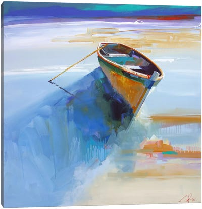 Low Tide I Canvas Art Print