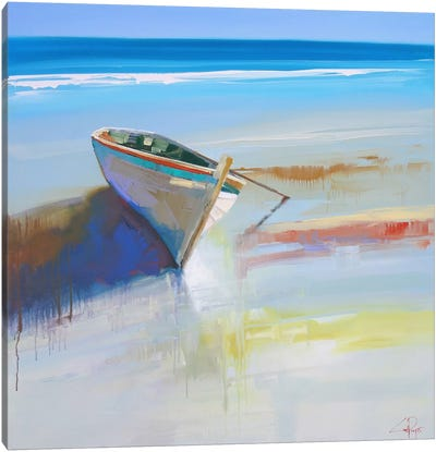 Low Tide II Canvas Art Print