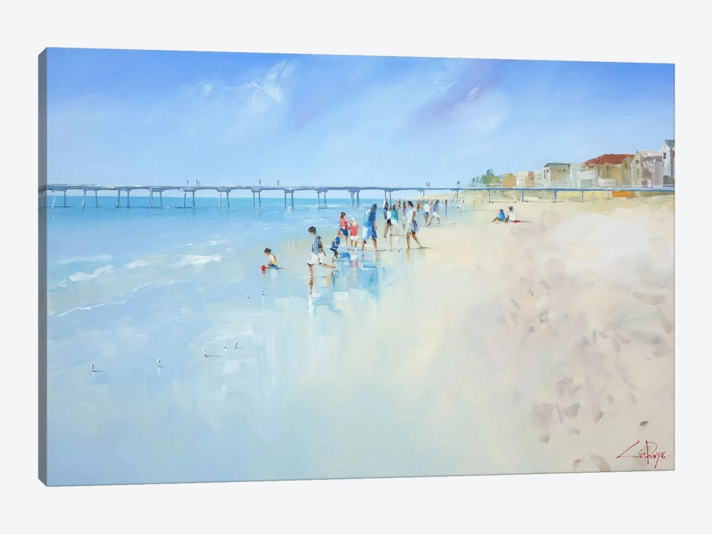 Low Tide At Henley by Craig Trewin Penny 1-piece Canvas Wall Art