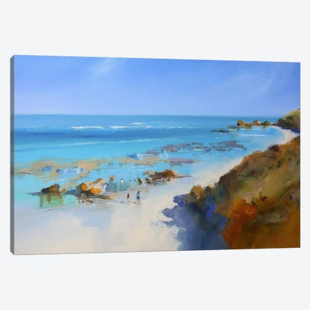 On The Back Beach, Sorrento Canvas Print #CTP17} by Craig Trewin Penny Art Print