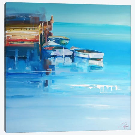 Port Fairy Moorings Canvas Print #CTP18} by Craig Trewin Penny Canvas Wall Art