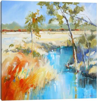 Summer Water II Canvas Art Print