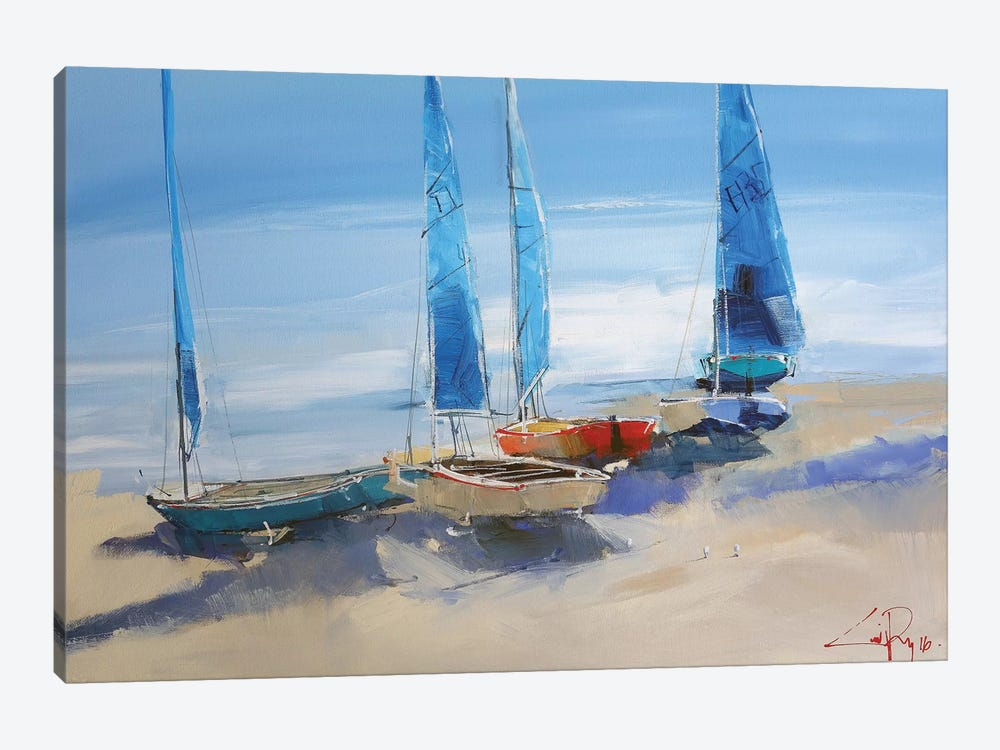 Before The Sail by Craig Trewin Penny 1-piece Art Print