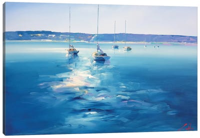Mornington Morning Canvas Art Print