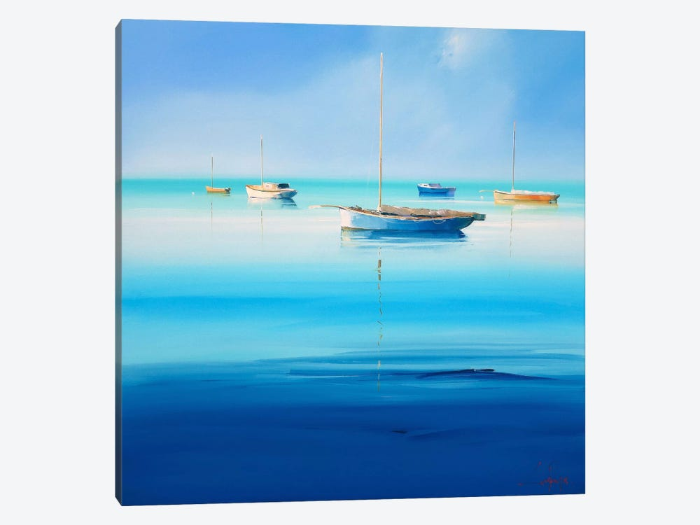Blue Couta I by Craig Trewin Penny 1-piece Canvas Print