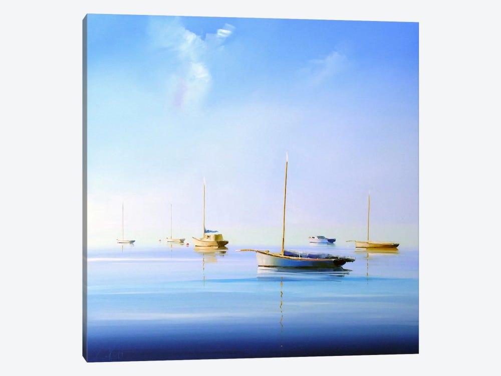 Blue Couta II by Craig Trewin Penny 1-piece Canvas Artwork