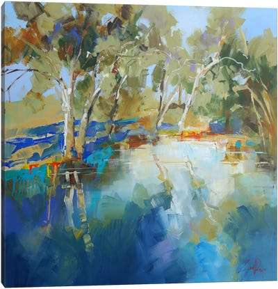 Cobram Creek Canvas Art Print